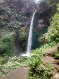 coban pelangi (rainbow waterfall) Royalty Free Stock Photography