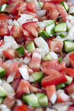Coban salad. Is a one of the most famous salad in the Turkish kitchen Stock Images