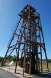 Cobar金矿纪念碑澳洲 免版税库存图片