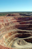 Cobar gold mine Australia. Gold mine in Cobar town, view from Fort Bourke Lookout, Australia Royalty Free Stock Images