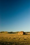Cobb and Co Ruin Portrait. A portrait shot of the Cobb and Co Ruin in the mid-north of South Australia stock photography