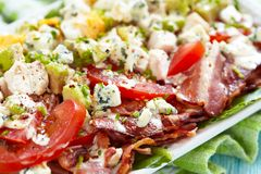 Cobb salad Royalty Free Stock Photography