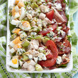 Cobb salad Stock Image