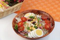 Cobb salad stock images
