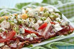 Cobb Salat lizenzfreie stockfotos