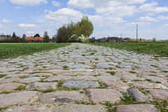 Cobblestone Road royalty free stock photography