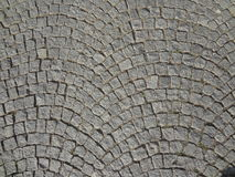 Cobble οδός πετρών που στρώνει το στρογγυλευμένο υπόβαθρο Στοκ εικόνες με δικαίωμα ελεύθερης χρήσης