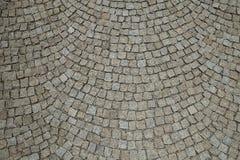 Cobble οδός πετρών που στρώνει το στρογγυλευμένο υπόβαθρο Στοκ φωτογραφίες με δικαίωμα ελεύθερης χρήσης