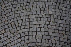 Cobble πέτρινο γκρι φωτογραφιών αποθεμάτων υποβάθρου Στοκ Εικόνες