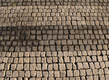 Cobble πορεία πετρών Στοκ Εικόνα
