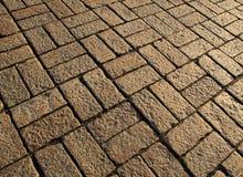 Cobble πορεία πετρών Στοκ φωτογραφία με δικαίωμα ελεύθερης χρήσης