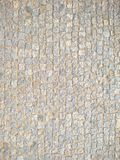 Cobble υπόβαθρο επίστρωσης οδών πετρών Στοκ Φωτογραφία