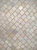 Cobble υπόβαθρο επίστρωσης ραπίσματος οδών πετρών Στοκ εικόνες με δικαίωμα ελεύθερης χρήσης