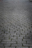 Cobble. Image of old town cobbled street Stock Image