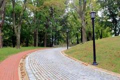Cobble de Weg van de Steen royalty-vrije stock afbeelding