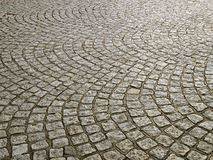 Cobble paving Royalty Free Stock Photo