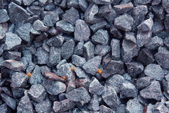 Cobble. A pile of cobble texture background royalty free stock image