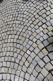 Cobble road Royalty Free Stock Images
