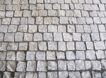 Cobble steen achtergrondtextuur Royalty-vrije Stock Afbeeldingen