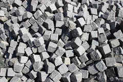 Cobble stone. In a heap royalty free stock photo