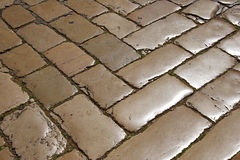 Cobble-stone Royalty Free Stock Images