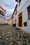 Cobble Stone European Street Royalty Free Stock Photo