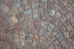 Cobble Stone. Old Cobble Stone Road Background royalty free stock photo
