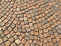 Cobble stone path. Close-up of an cobble stone path royalty free stock image