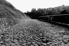 Cobble stone path Royalty Free Stock Photos