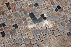Cobble stone path Royalty Free Stock Photography