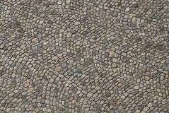 Cobble stone pavement Stock Photos