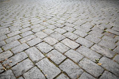 Cobble stone pavement Royalty Free Stock Photos