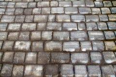 Cobble-stone pavement Royalty Free Stock Photos
