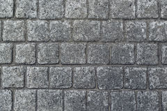 Cobble stone pavement texture Royalty Free Stock Photography