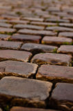 Cobble Stone road Royalty Free Stock Photos