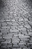 Cobble Stone road. Pattern from a Greek island stock photos