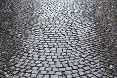 Cobble stone road Stock Photo