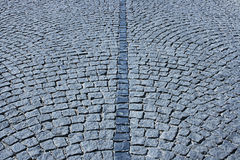 Cobble-stone street. Cobble stone street in city Royalty Free Stock Image