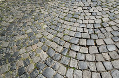 Cobble stone street Stock Photography