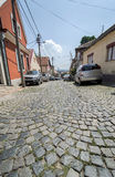 Cobble stone street Royalty Free Stock Photography