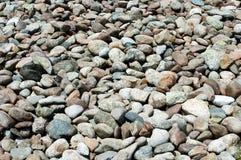Cobble-stone van de rivier stock foto
