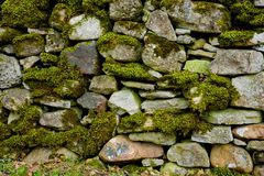 Cobble-stone wall Royalty Free Stock Image