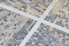 Cobble stones from above Stock Photography