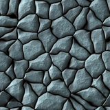 Cobble stones abstract seamless generated hires texture Stock Photos