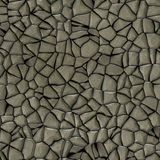 Cobble stones abstract seamless generated hires texture Stock Images