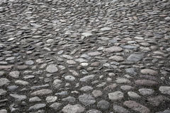 Cobble-stones background. Cobble-stones in a closeup composition, background Stock Image