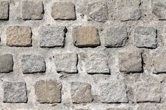 Cobble stones close-up Royalty Free Stock Photo