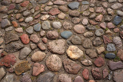 Cobble-stones roadway. Stock Images