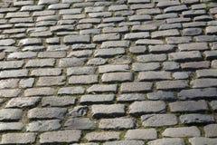 Cobble Stones in Saragossa, Aragon Stock Photography