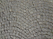 Cobble Stones Street Paving Rounded Background Stock Image